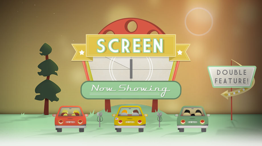 Highway 21 Drive In Theater Screen 1 - Beaufort Web Design - The Lills Design